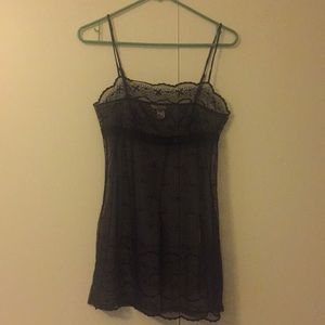Victoria Secret Embroidered Chemise Size M